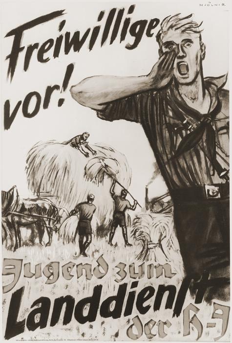 Poster de propaganda de la juventud de Hitler